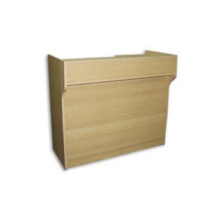 Wood Fixtures: Ledge Top Counter 6' Maple