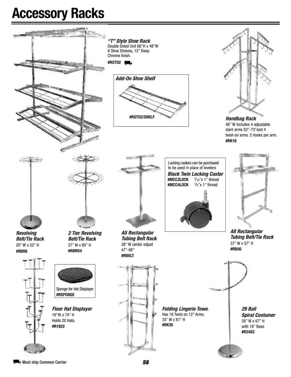 accessory racks