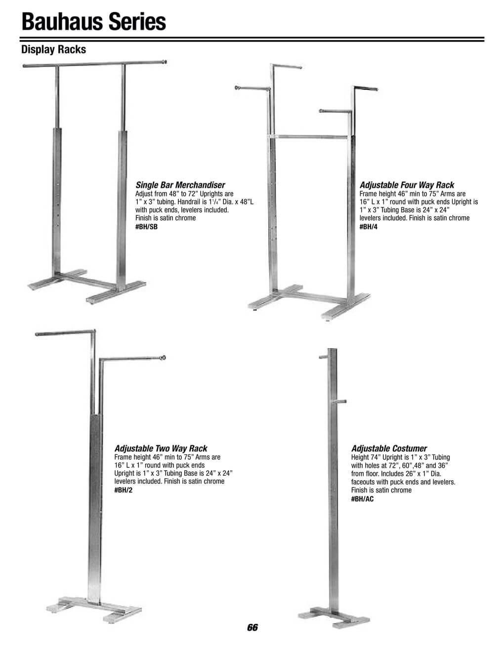 bauhaus racks series