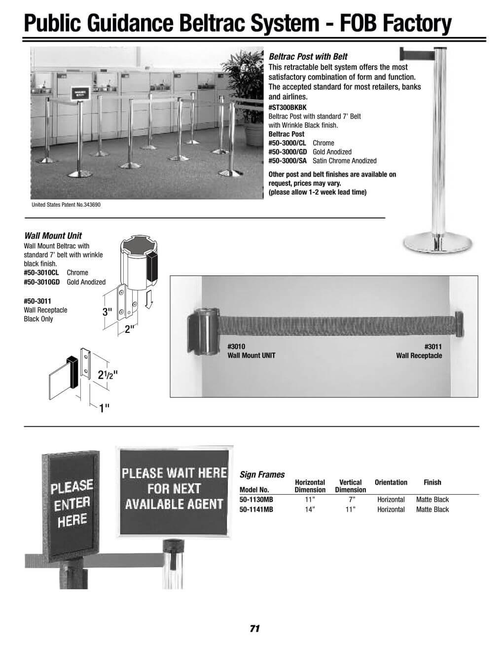 public guidance beltrac system