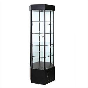 "Showcases: Hexagon Case 25"" light"