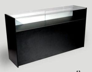 Showcases: 4' Quarter View Black
