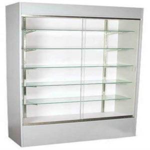 Showcases: 6' Wall Case - White