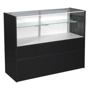 showcase 4' black