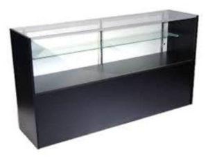 Showcase 6′ Half View – black